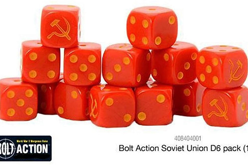 Bolt Action Soviet Union D6 Dice Set