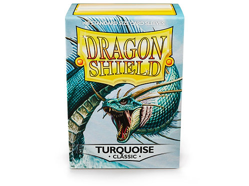 Dragon Shield Classic: Turquoise Standard Sleeves (100)