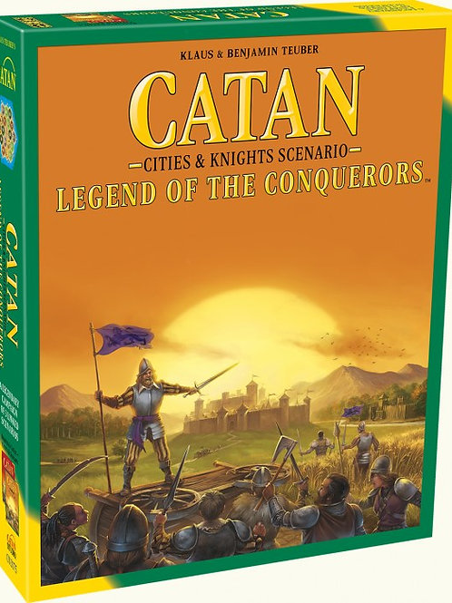 Catan: Legend to the Conquerors (Cities & Knights Scenario)