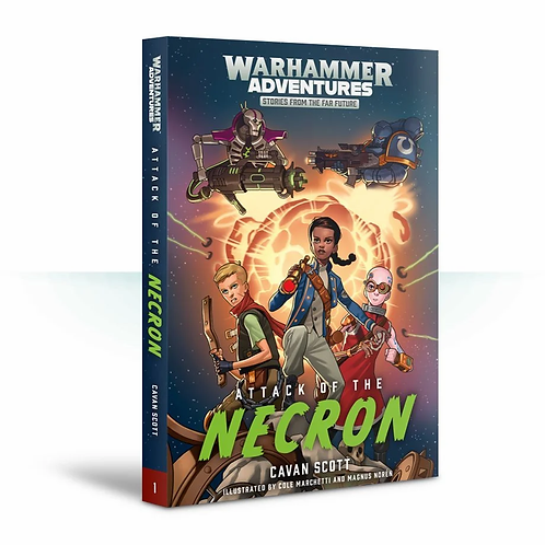 Attack of the Necron: Book 1 (Paperback)