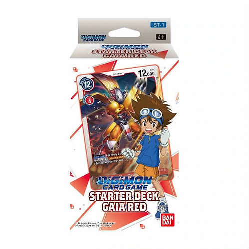 Digimon Card Game: Gaia Red Starter Deck [ST-1]