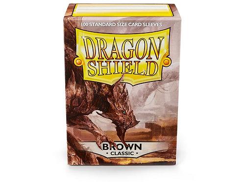 Dragon Shield Classic: Brown Standard Sleeves (100)