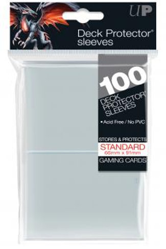 Ultra Pro 100 Standard Clear Deck Protector Sleeves