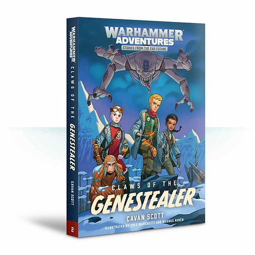 Claws of the Genestealer: Book 2 (Paperback)