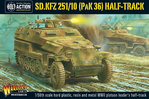 Sd.Kfz 251/10 half-track (3.7cm PaK) plastic boxed set