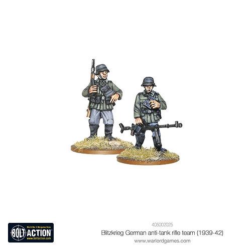 Blitzkrieg German anti-tank rifle team (1939-42)
