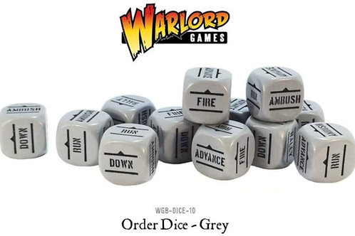 Bolt Action Grey Order Dice