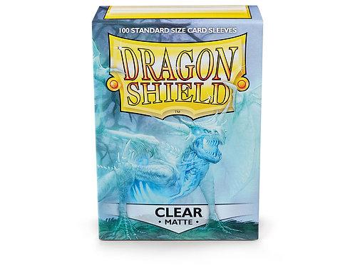 Dragon Shield Matte: Clear Standard Sleeves (100)