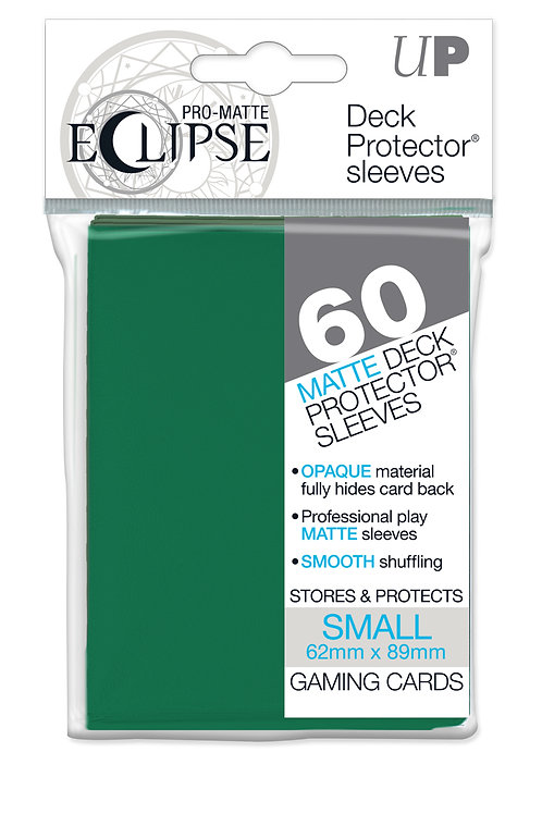 Ultra Pro Pro-Matte 60 Forest Green Small Deck Protector Sleeves