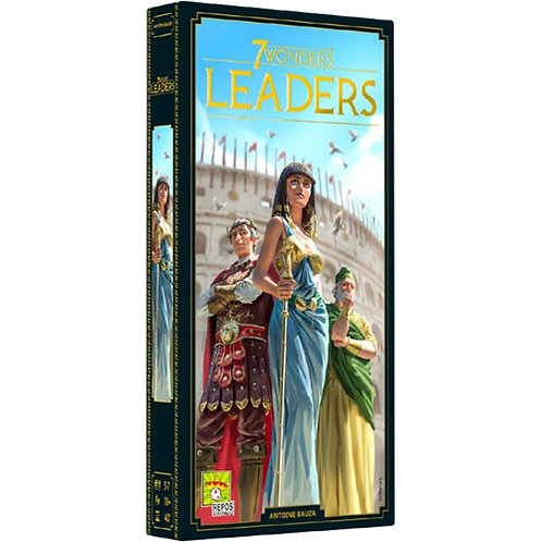 7 Wonders (2nd Edition): Leaders Expansion