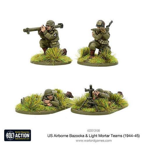 US Airborne Bazooka & light mortar teams (1944-45)