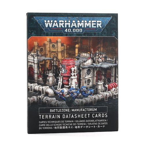 Battlezone: Manufactorum – Terrain Datasheet Cards
