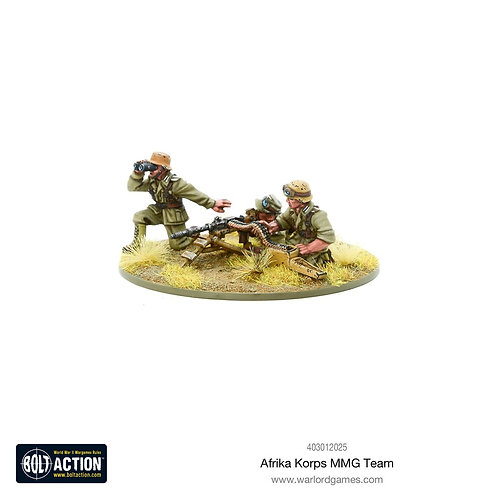 Afrika Korps MMG Team