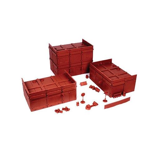 Terrain Crate: Red Brick Terrain Town Centre