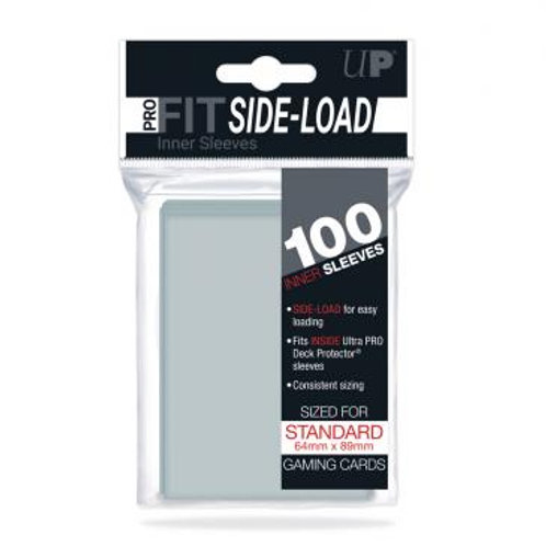 Ultra Pro 100 Pro-Fit Standard Side Loading Deck Protector Sleeves