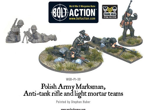 Polish Army Marksman, Anti-tank rifle and light mortar teams