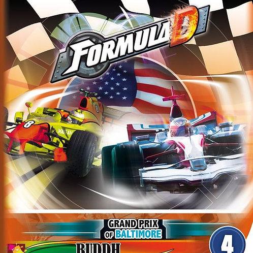 Formula D Expansion 4: Grand Prix of Baltimore & Buddh