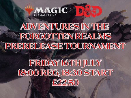 Adventures in the Forgotten Realms Prerelease - Tournament Results