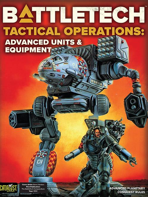 Battletech Tactical Operations: Advanced Units & Equipment