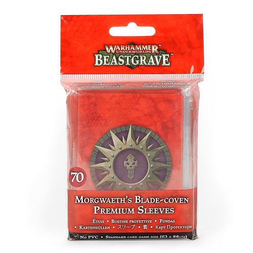 WARHAMMER UNDERWORLDS: Beastgrave - Morgwaeth's Blade-Coven Premium Sleeves
