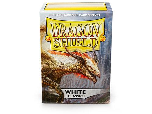 Dragon Shield Classic: White Standard Sleeves (100)