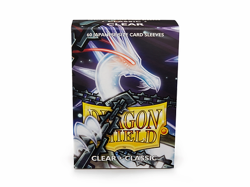 Dragon Shield Japanese Size Classic: Clear (60)