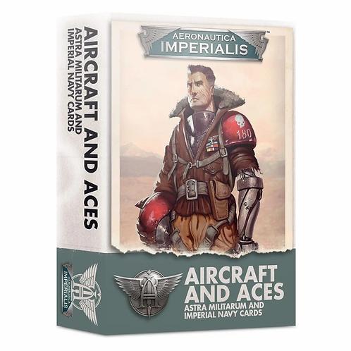 Aeronautica Imperialis: Aircraft and Aces – Astra Militarum/Imperial Navy Cards