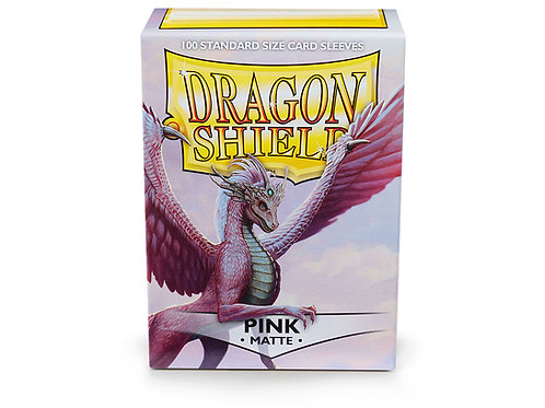 Dragon Shield Matte: Pink Standard Sleeves (100)