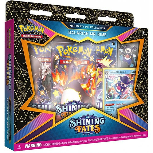 Shining Fates Mad Party Pin Collection: Galarian Mr Rime