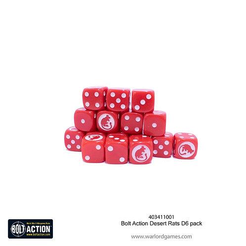 Bolt Action Desert Rats D6 pack
