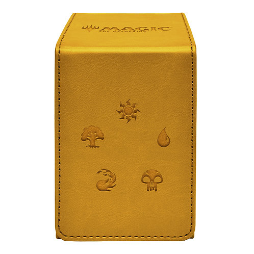 Alcove Flip Deck Box - Gold (Magic The Gathering)