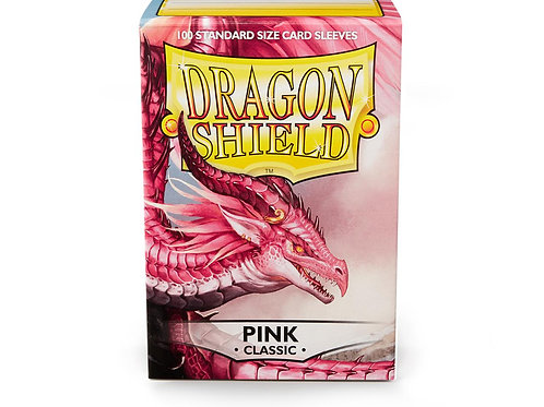 Dragon Shield Classic: Pink Standard Sleeves (100)