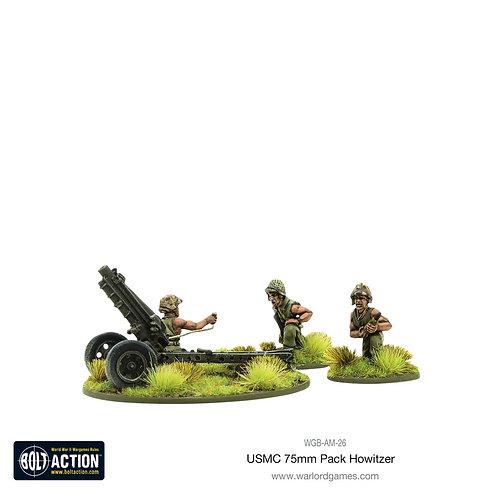 USMC 75mm pack howitzer light artillery