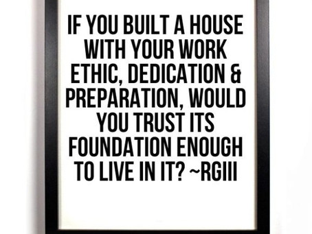 Do you really have a strong work ethic?