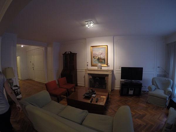 remodelacion de interiores living antes y depues