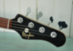 Maghni guitars, Mp4 Transition headstockk