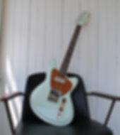Maghini Guitars, Satellite, German Carve