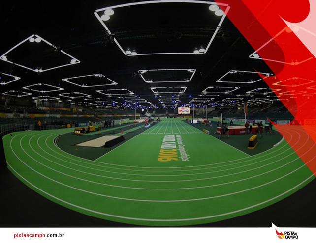 Brasil sem medalhas em Mundial Indoor