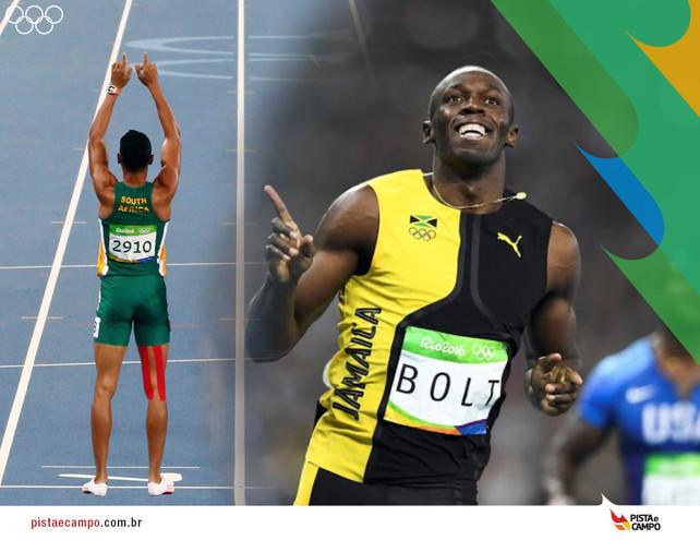Domingo com Tri de Bolt e quebra do recorde nos 400 metros