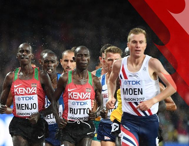 O maratonista recordista norueguês Sondre Moen fala sobre sua experiência treinando na África