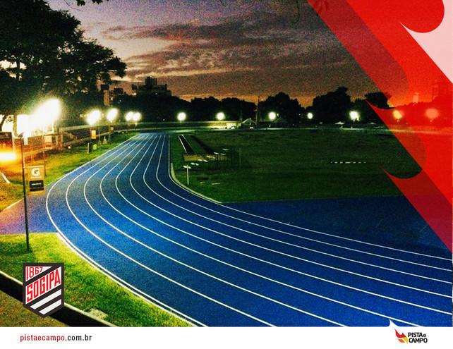 Exemplo em tecnologia e qualidade em pista de atletismo no Rio Grande do Sul