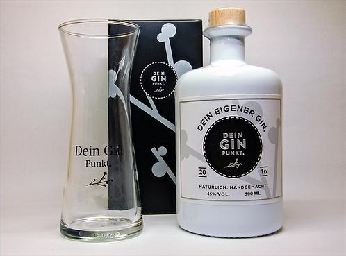 Dein Gin Punkt. - Glas