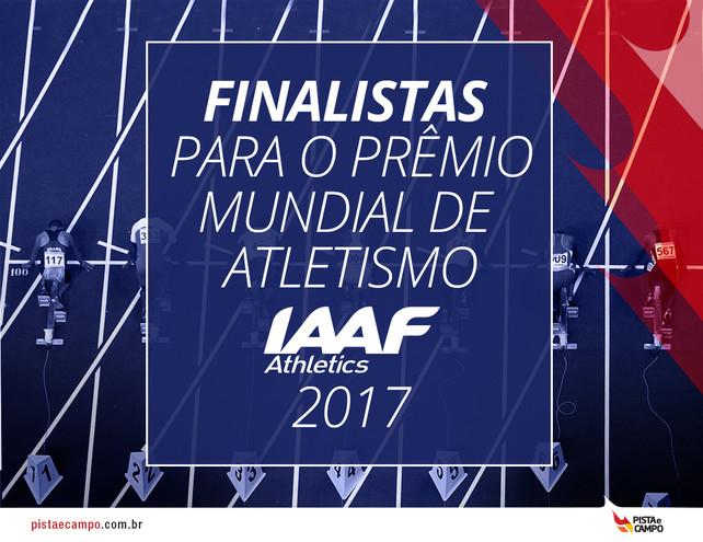 IAAF anuncia os finalistas para o Prêmio Mundial de Atletismo de 2017