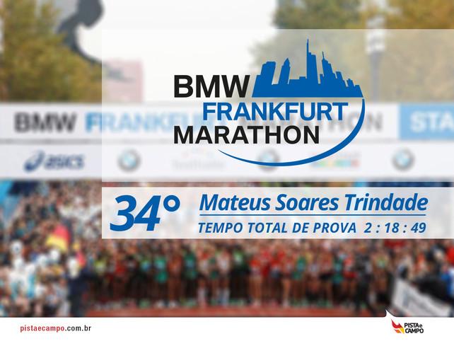 Resultado maratona de Frankfurt 2015