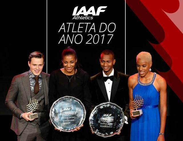 Barshim e Thiam eleitos atletas do ano pela IAAF