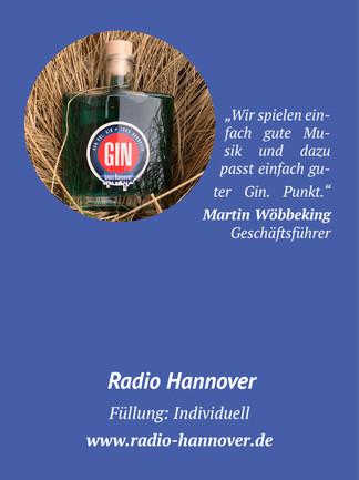 Radio Hannover Gin