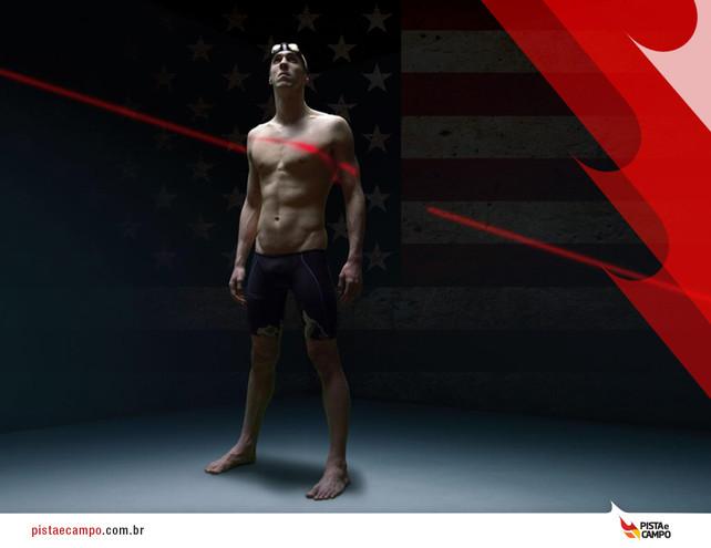 Michael Phelps está com passaporte garantido para Rio 2016
