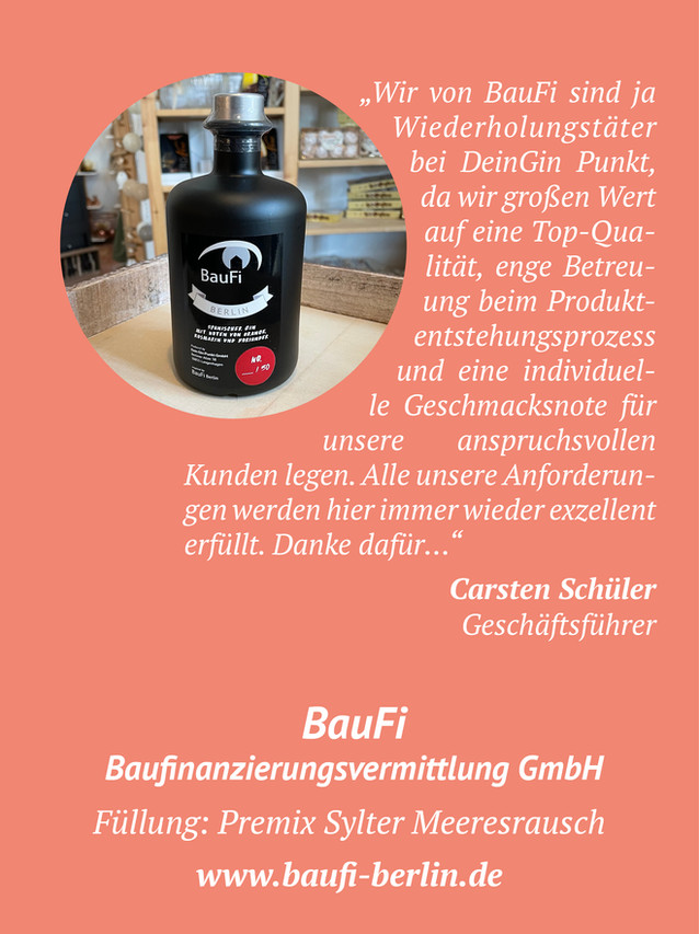 Baufi Berlin Gin