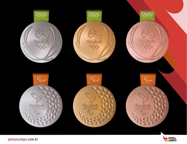 Medalhas Olímpicas do Rio 2016 são apresentadas