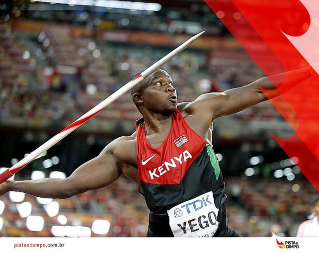 Julius Yego, campeão mundial, pode ficar fora das olimpíadas do Rio de Janeiro